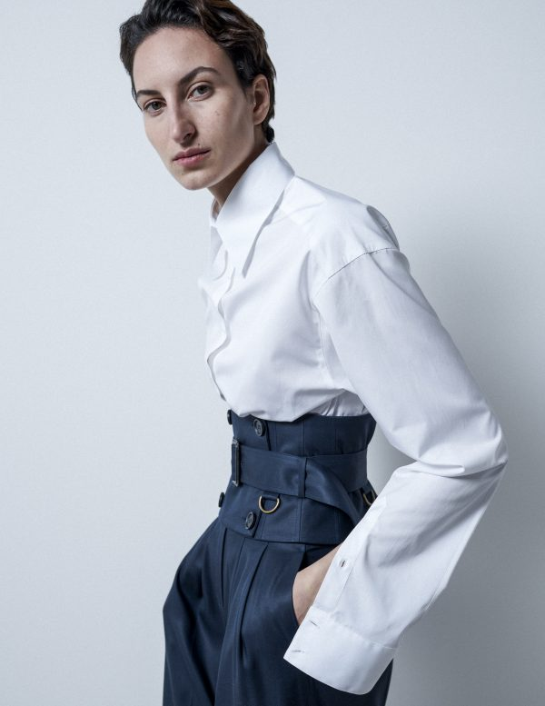 cropped shirt A LINE clothing