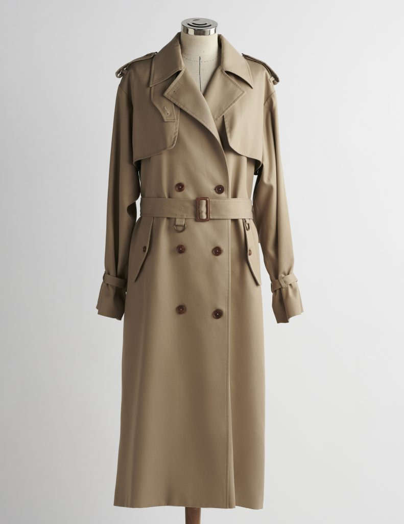trench coat A LINE clothing